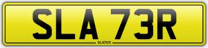 slater cherished number plates