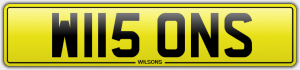 wilsons cherished number plates
