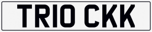 Trick cherished number plate TR10 CKK